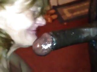 Abuelita sin dientes garganta profunda. bbc