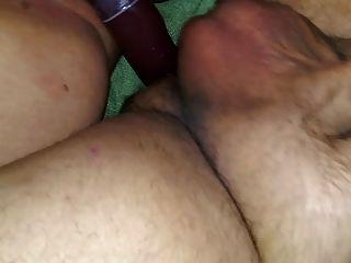 peluda bbw esposa pov doble dong consolador strapon vinculación culo