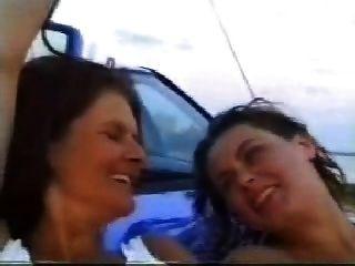 mamá filma hija y yerno y luego se une