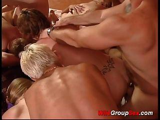 fiesta de grupo swinger alemana