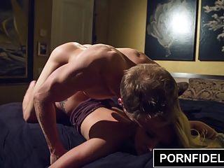 pornfidelity aj applegate obtiene su gran botín jodido duro