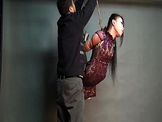 yaner extreme hogtie hang challenge
