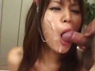 ppp 079 bukkake japonés + semen en la boca + semen sin censura