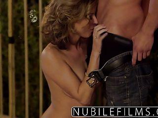 nubilefilms romance al aire libre lleva a mierda caliente
