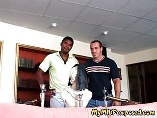 mi milf expuesta esposa caliente en medias interracial mierda anal