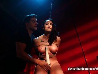 chanel preston rope bondage rough sex