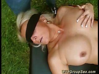 fiesta alemana de jardín swinger