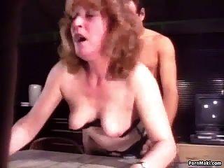 retro abuelita anal