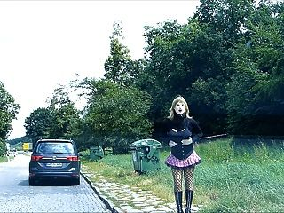 rubberdoll monique rubberwhore hooker en las calles alemanas