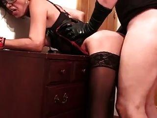 asiático abuelita anal