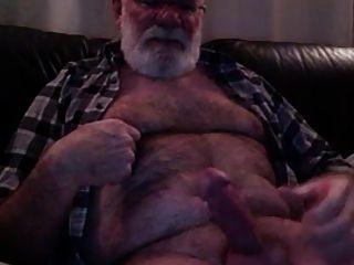 abuelo cum en cámara
