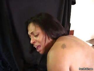Abuelita de ébano toma bbc