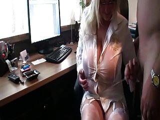 meando en mi sucio jefe