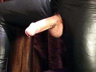 HD enorme polla manos libres gran cum en leggings brillantes