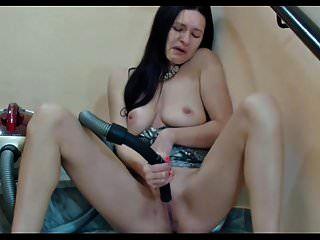 Masturbador aspirador alemán milf aspiradora masturbación