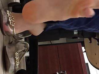 pisos de plástico transparente shoeplay en el trabajo