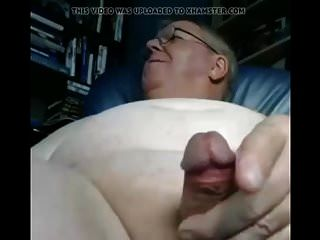 abuelo cum en webcam