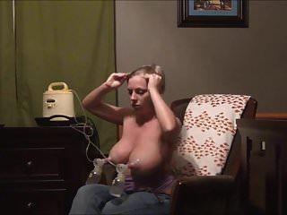 Bombeo de leche materna. otra vez