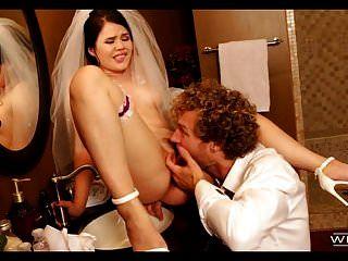 El mejor hombre se folla a la novia el día de su boda.