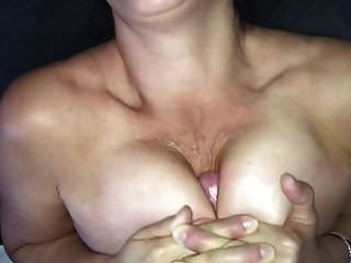 titty fucking milf