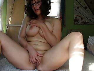 Mi secretaria se masturba por primera vez en cam.