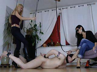 dominas calientes tortura esclavo