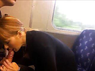 mamada en el tren