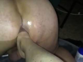 Femdom femenina a masculina pie anal extremo.