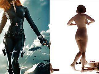 Sekushilover viuda negra vs Scarlett desnuda