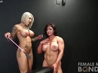 desnudos culturistas femeninos juego de esclavitud