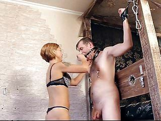 esclavo enjaulado soltó