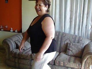 abuela mexicana baile