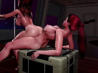 futa x entrenamiento anal femenino (redapple2)