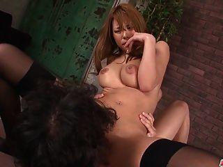 big boobs haruka sanada increíble sexo en escenas en llamas