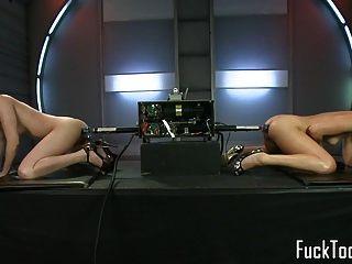 lesbianas coño joder doble consola consola