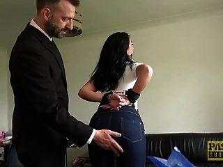 milf puta ella bella se golpeó fuerte en el culo por pascal