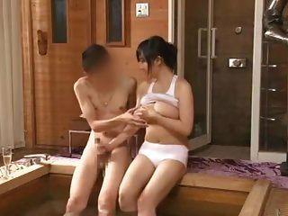 azusa nagasawa en sauna dama ocupación parte 5