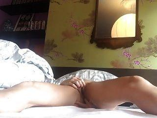 Orgasmo intenso después de horas de ribete. clítoris y estimulo anal.