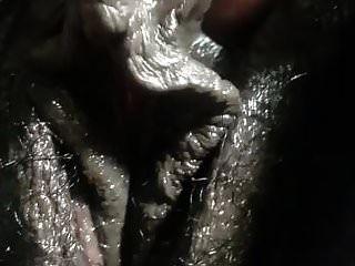 901 enorme clítoris de ébano