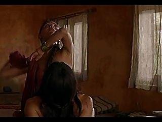 actriz neelesha escena de la película samsara