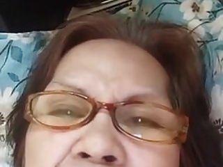 abuela evenyn santos hace show anal de nuevo.
