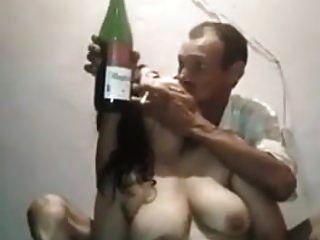 Desi tío con stripper randi