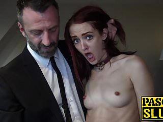 Andi Rye consigue su coño apretado devastado por un dic masivo