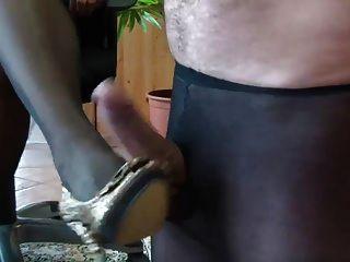 látigo panty azotando