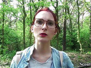 Colegio scout alemán adolescente pelirroja lia en casting público
