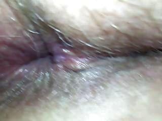 Coño de milf de cerca gape profundo dentro de agujeros milf anchos abiertos