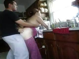 follada en la cocina por detrás