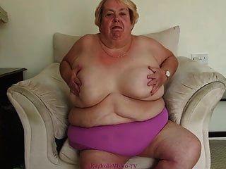 Tiras de abuela morbosamente obesas para nosotros