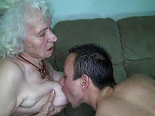 abuela coño está mojado