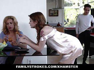 escalonamientos de la familia son atrapados por la madrastra